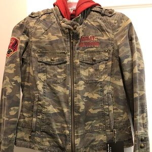 Brand New With Tags Harley Davidson 3 in 1 Jacket